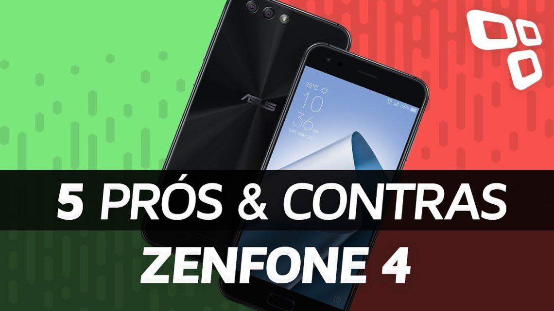 Asus Zenfone 4 – Prós e Contras – TecMundo