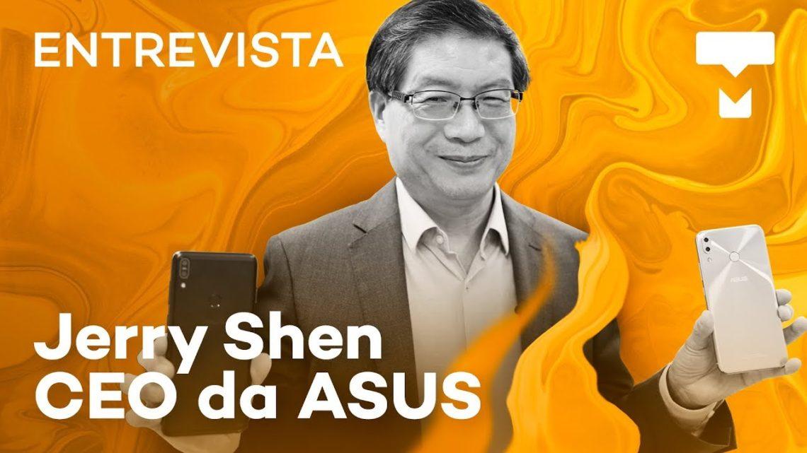 O conceito por trás do Asus Zenfone: Entrevista com Jerry Shen – TecMundo