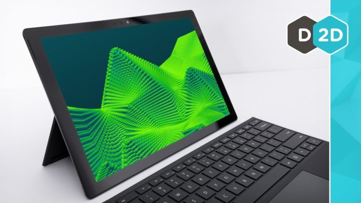 Surface Pro 6 – 60% Mais Rápido!