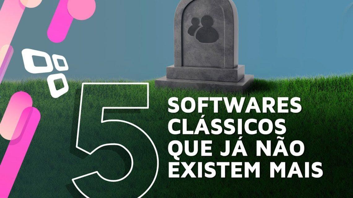 5 softwares clássicos que já foram descontinuados
