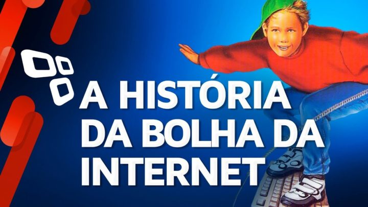 A história da bolha da internet