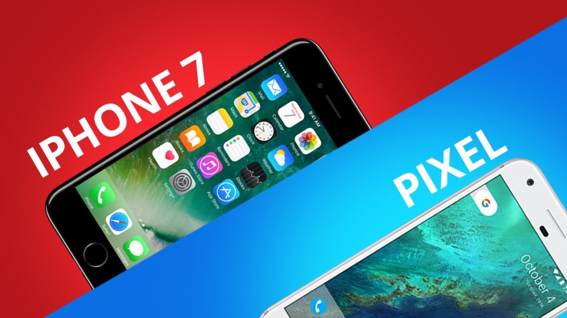 Google Pixel vs iPhone 7 [Comparativo]