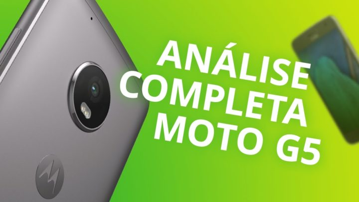 Motorola Moto G5 (2017) – Análise Completa/Review