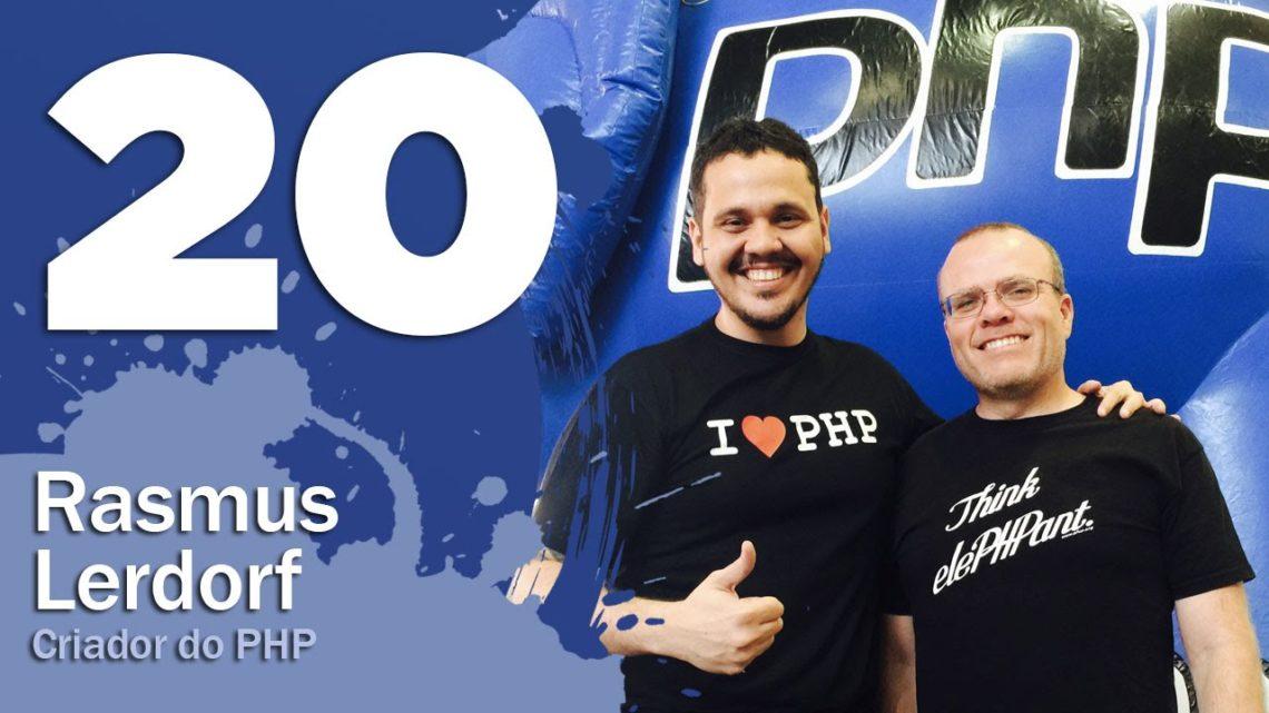 Entrevista com Rasmus Lerdorf – Curso PHP Iniciantes #20 – Gustavo Guanabara