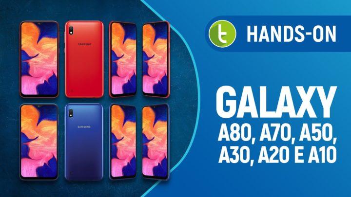 Adeus, Galaxy J?! Samsung apresenta seis novos Galaxy A no Brasil | Hands-on