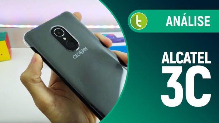 Alcatel 3C tem tela grande e TV para quem não é nada exigente | Análise / Review