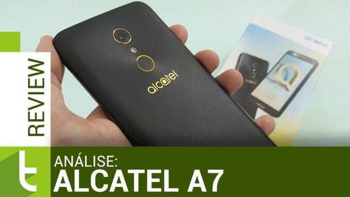 Alcatel A7: desempenho e bateria por um preço justo | Review do TudoCelular