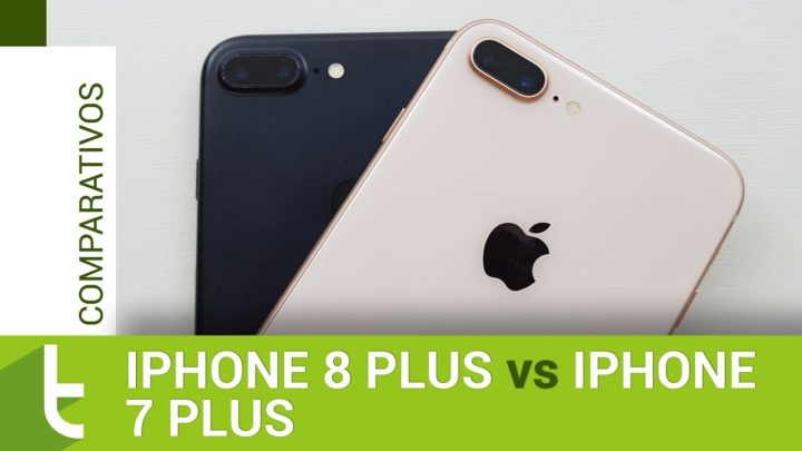 Apple iPhone 8 Plus vs iPhone 7 Plus | Comparativo do TudoCelular