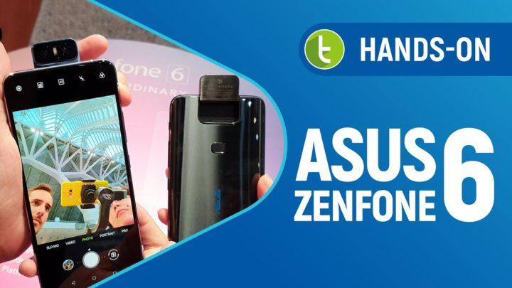 ASUS Zenfone 6: câmera flip e bateria grande em um top de linha | Hands-on
