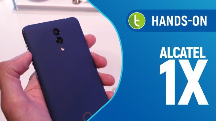 CES 2019: Alcatel 1X 2019 traz mais elegância em design e pouca novidade em hardware