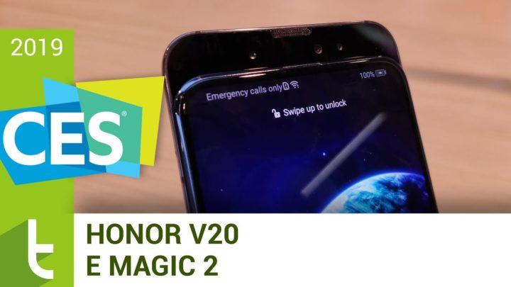 CES 2019: Honor View 20 e Magic 2 mostram como ser premium a baixo custo