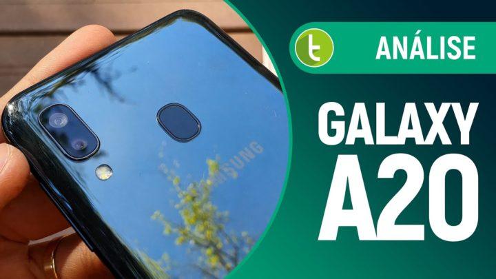 Galaxy A20 corrige erros do A10, mas… | Análise / Review