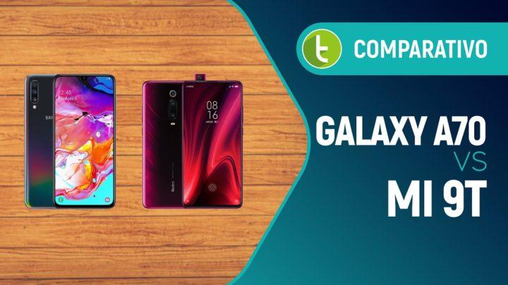 Galaxy A70 ou Mi 9T (Redmi K20): duelo de intermediários competentes | Comparativo