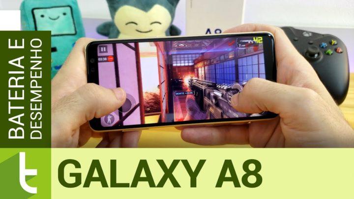 Galaxy A8 ganha fluidez e quase mantém autonomia com o Android Oreo