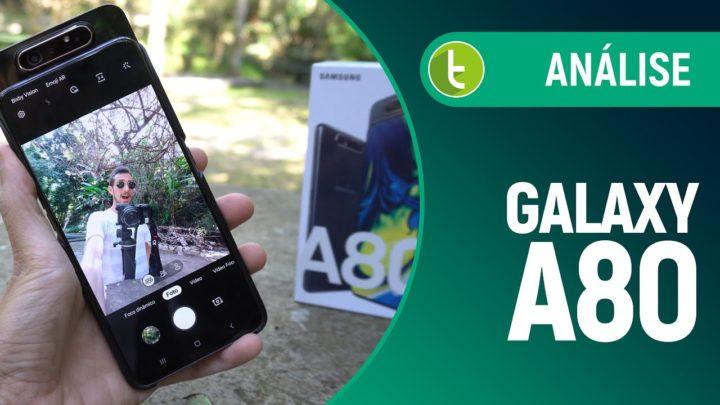 GALAXY A80: CÂMERA que GIRA não convence | Análise / Review
