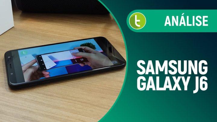 Galaxy J6: básico com 'tela infinita' e bateria que dura bastante | Review / Análise