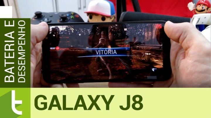 Galaxy J8 fica à frente dos concorrentes em autonomia e desempenho