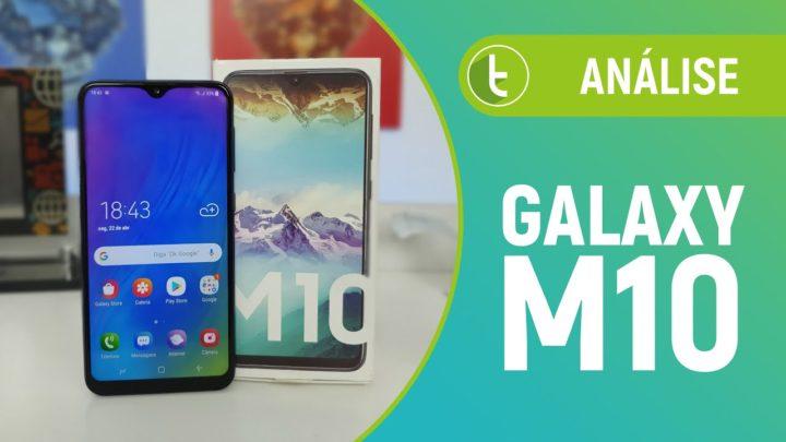 Galaxy M10: novo basicão da Samsung quer te iludir pela aparência | Análise / Review