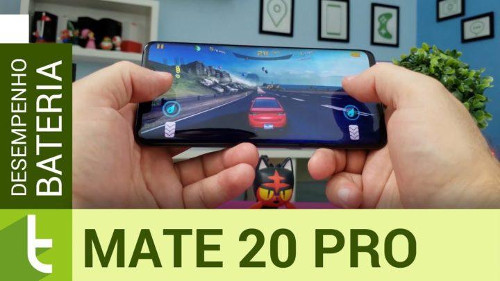 Huawei Mate 20 Pro detona tops de linha Android em desempenho e bateria