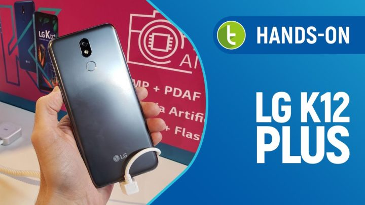 LG K12 Plus chega ao Brasil com certificação militar e inteligência artificial