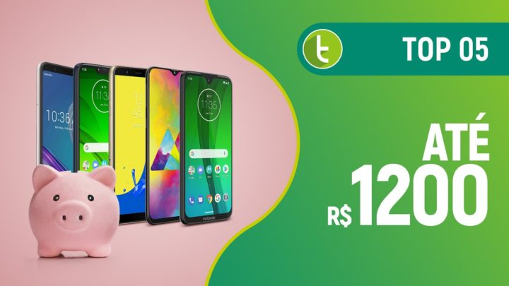 Melhores smartphones até R$ 1200 | TOP 5 – Junho 2019