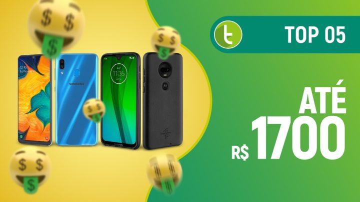 Melhores smartphones até R$ 1700 | TOP 5 – Junho 2019