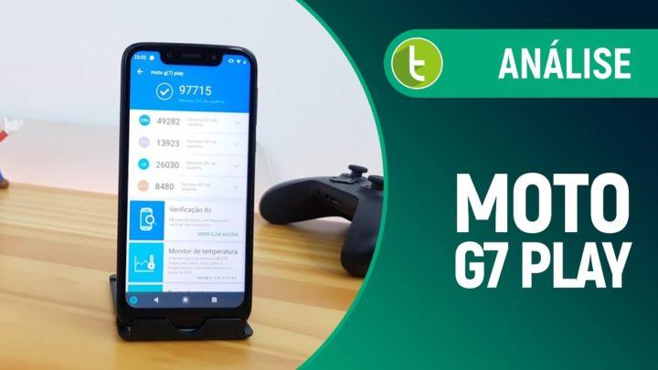 Moto G7 Play: smartphone simples, compacto e com boa duração de bateria | Análise / Review