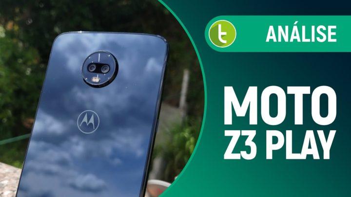 Moto Z3 Play busca compensar falta de inovação com os Moto Snaps | Review/Análise
