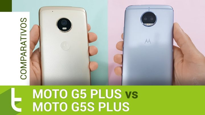 Motorola Moto G5 Plus vs Moto G5S Plus | Comparativo do TudoCelular