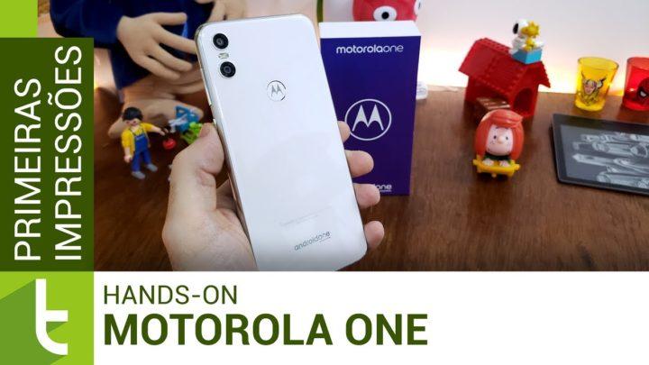 Motorola One chega ao Brasil com Android do Google e hardware de 2017