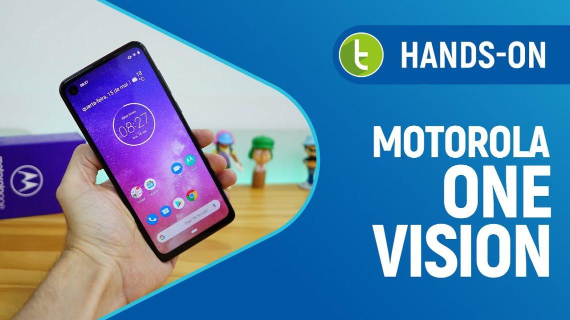 Motorola One Vision tem tela de cinema e promete enxergar no escuro   Hands-on