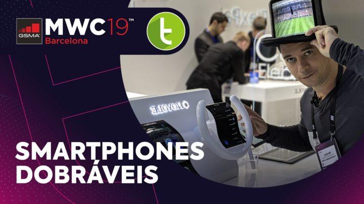 MWC19: Mate X, Galaxy Fold e outros smartphones dobráveis em Barcelona