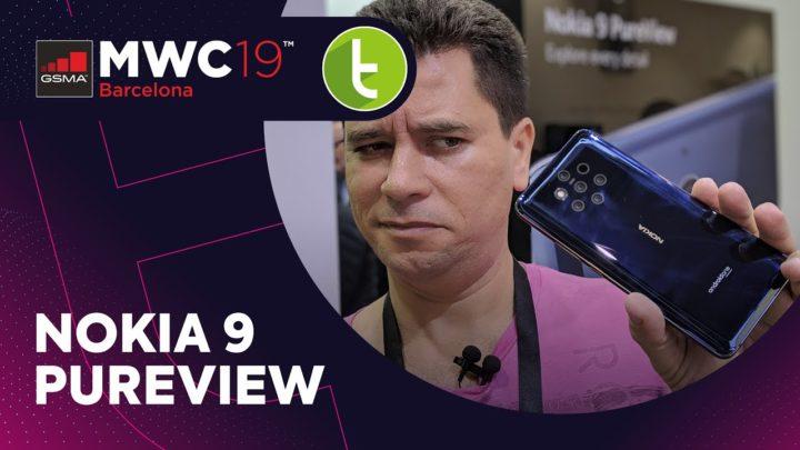 MWC19: Nokia 9 Pureview aposta em cinco câmeras para impactar fotógrafos