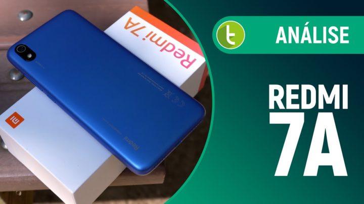 REDMI 7A é o baratinho BOM EM JOGOS e com BATERIA GRANDE | Análise / Review