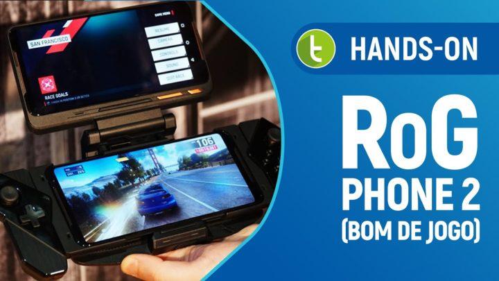 ROG PHONE 2: hands-on com o SMARTPHONE ASUS BOM DE JOGO