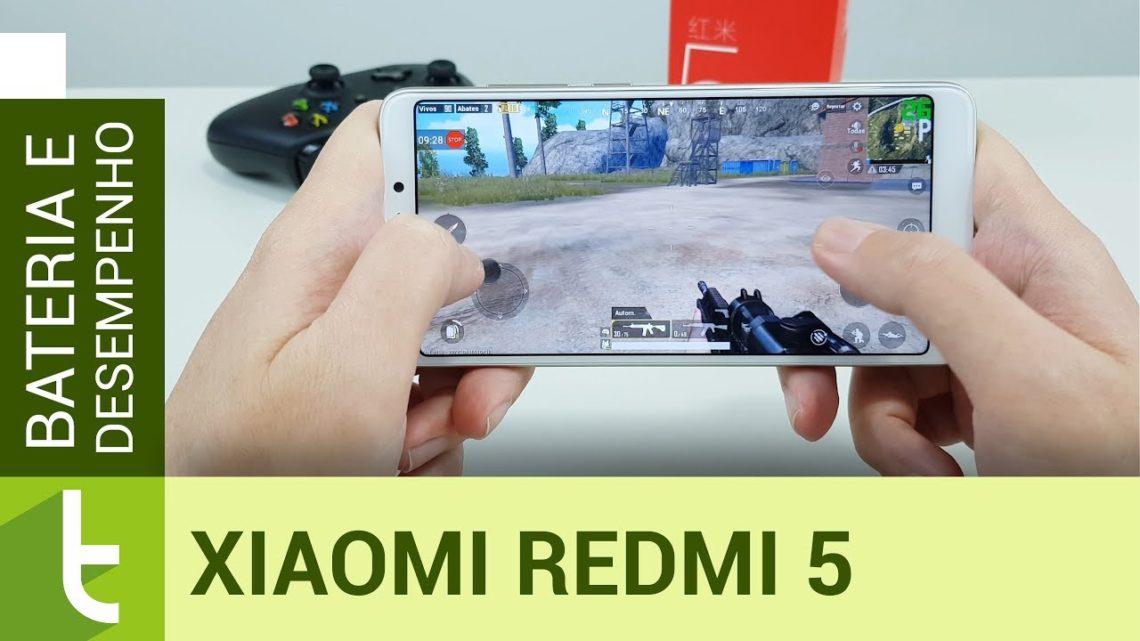 Xiaomi Redmi 5 entrega desempenho e bateria condizentes com valor cobrado