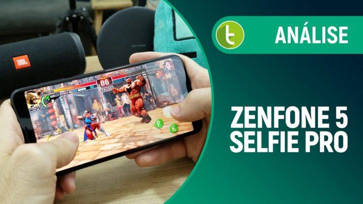 Zenfone 5 Selfie Pro vale investimento a mais comparado a modelo básico | Review/Análise