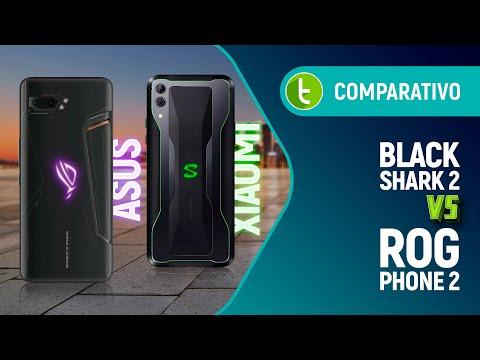 ROG PHONE 2 vs BLACK SHARK 2: menos DINHEIRO ou mais PODER? | Comparativo