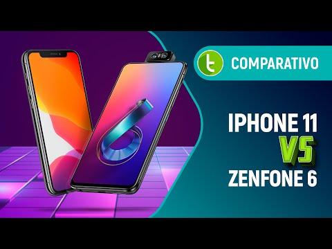 ZENFONE 6 vs IPHONE 11: uma CÂMERA FLIP bate OTIMIZAÇÃO de SOFTWARE? | Comparativo