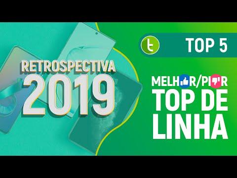 MELHOR e PIOR CELULAR TOP de LINHA de 2019 | Retrospectiva TudoCelular