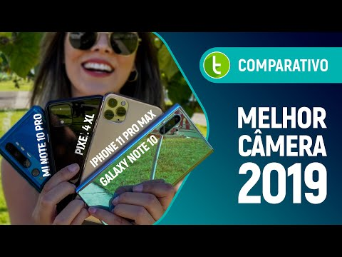 GALAXY NOTE 10 PLUS supera MI NOTE 10 PRO, IPHONE 11 PRO MAX e PIXEL 4 XL | Comparativo de câmeras