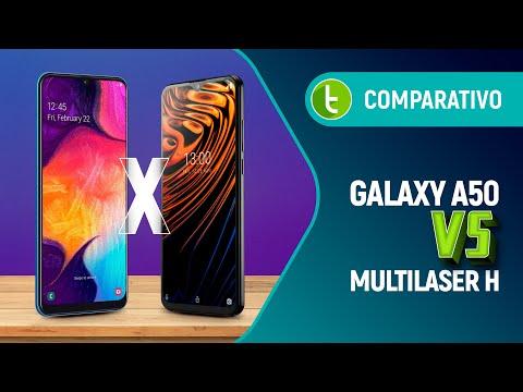 GALAXY A50 vs MULTILASER H: será que o NACIONAL tem força pra BRIGAR com a Samsung? | Comparativo