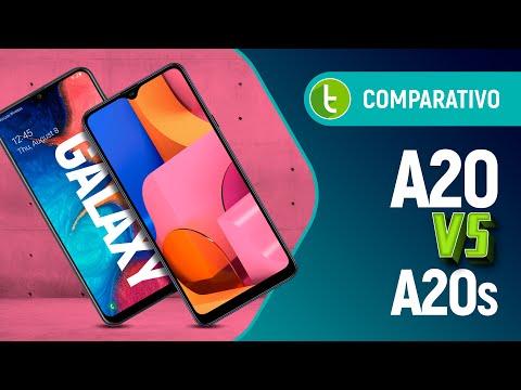 GALAXY A20 vs GALAXY A20s: Samsung, o que tá acontecendo aqui?!?! | Comparativo