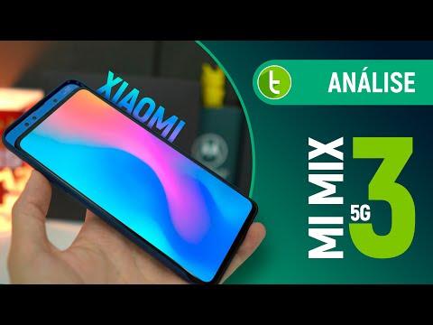 XIAOMI MI MIX 3 5G traz MAIS POTÊNCIA e te PREPARA para o FUTURO | Análise / Review