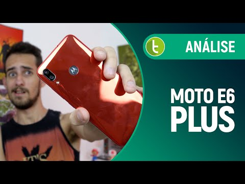 MOTO E6 PLUS: CARA NOVA para a linha ainda PRESA AO PASSADO | Análise / Review