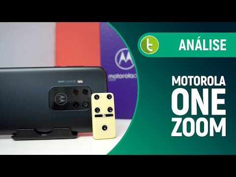 "MOTOROLA ONE ZOOM aposta todas as fichas na ""câmera dominó"" | Análise / Review"