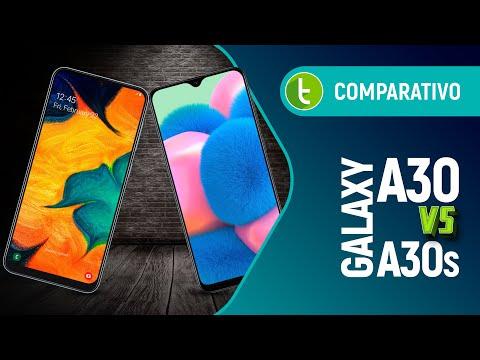 GALAXY A30 vs. GALAXY A30s: quando REALMENTE NÃO SE MEXE em time que está ganhando | Comparativo