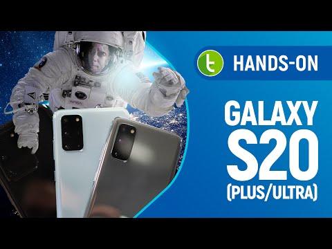 GALAXY S20: GRANDE SALTO no NOME, PEQUENO PASSO nos RECURSOS | Hands-on