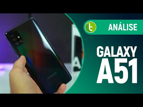 GALAXY A51 CUMPRE PROPOSTA de MELHORAR CÂMERAS do A50 | Análise / Review