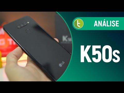 LG K50s: TELA GRANDE, BOAS CÂMERAS e BATERIA | Análise / Review